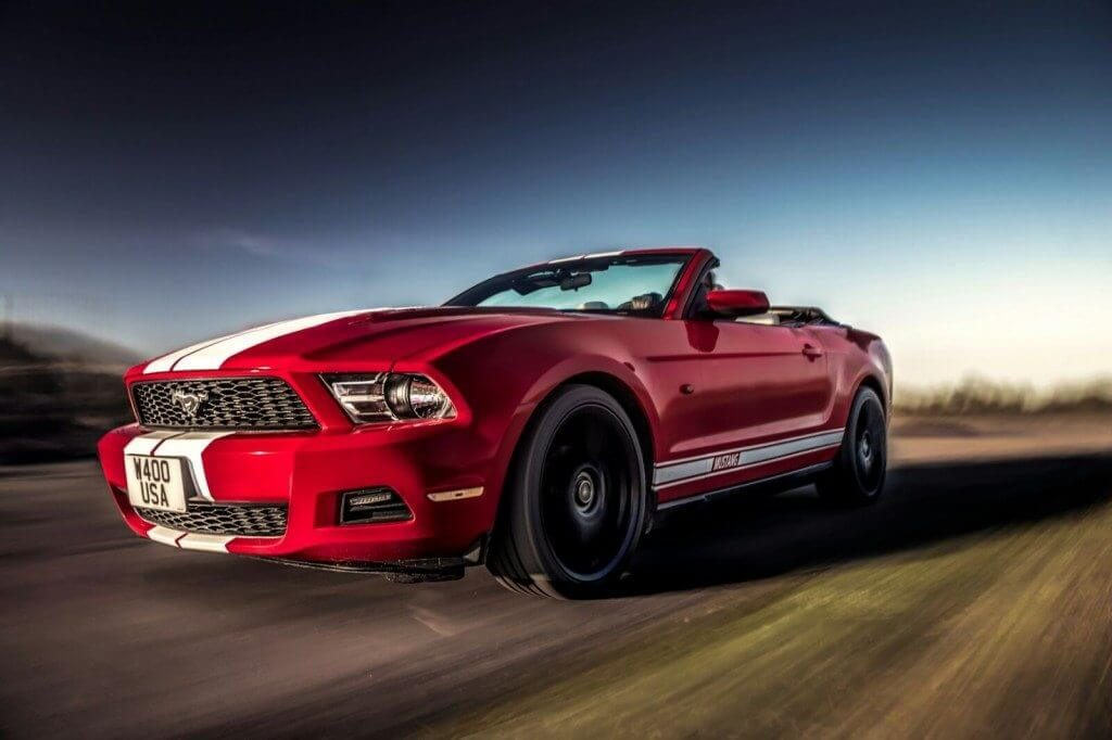 Ford Mustang Convertible for hire