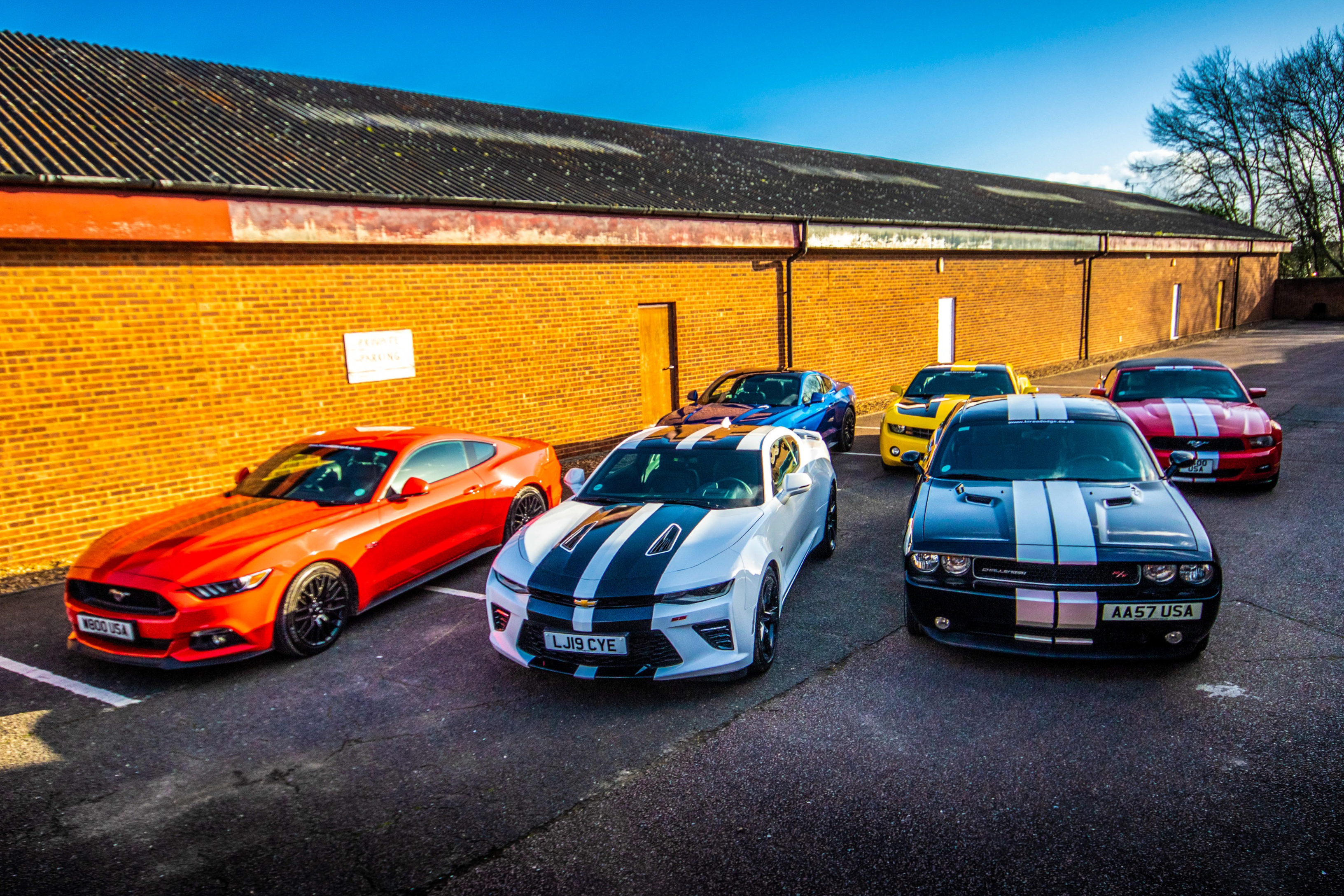 Our very affordable Muscle Car Hire within the UK